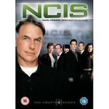 NCIS: Season 4 DVD (2008) Mark Harmon series four new sealed region 2 N C I S