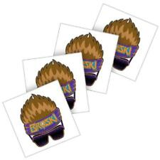 Zack Ryder WWE Temporary Tattoo pack of 4