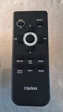 Clarion Remote Control CZ702  Car Stereo Audio storage box Pre Owned