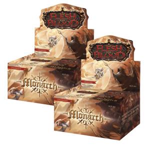 Runeblade Flesh and Blood Monarch Unlimited 2x Booster Box Break #360