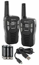 Cobra CXT145 MicroTalk 16 Mile Range 22 Channel 2 Way Walkie Talkie Radios, Pair