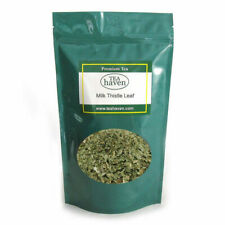 Milk Thistle Leaf Herb Tea Silybum Marianum Herbal Remedy - 1 lb bag