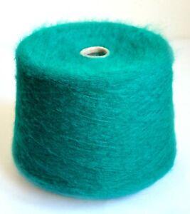 Italian alpaca wool yarns, 8.1 oz / 230 grams cone