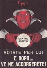 C443) ELEZIONI, PLI, PER UN FANFANI SENZA DOMANI ... VOTATE LIBERALE.