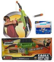 Bow & Arrow Eagle Rapid-Fire Dart Blaster + Bonus 30 Extra Nerf Darts 35