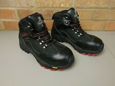 RefrigiWear Women's Black Widow Insulated Waterproof Size 6 Leather Work Boots