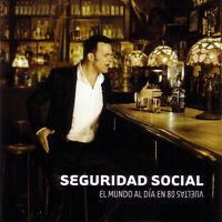 SEGURIDAD SOCIAL - EL MUNDO AL DIA EN 80 VUELTAS - CD NUEVO - POP ROCK