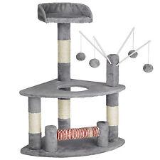 Arbre à chat griffoir grattoir animaux avec des 4 boules 90 cm hauteur