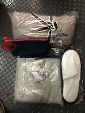 NEXT DAY DELIVER UNITED AIRLINES polaris Bundle pajama XL, slippers AMENITY KIT-