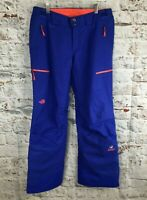 North Face Steep Series Large Blue Snow Salopettes Recco Gore Tex Ski Trousers