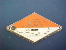 Original 250 Meilen Nürburgring 1973 Grill Badge Paffrath Autoplakette ADAC MSC