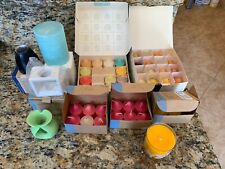 New Huge Lot Partylite Candles! Mixed Scents Votives Candle Glolite Incense
