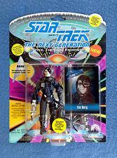 STAR TREK THE BORG THE NEXT GENERATION PLAYMATES 5 INCH FIGURE SKYBOX CARD