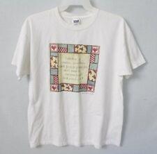 Bargain Collector white cotton crew neck short sleeve graphic tee *Sz XL*