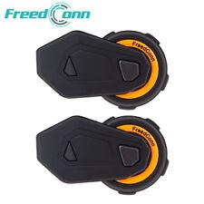 1500M Motorcycle Bluetooth Helmet Intercom T-MAX Motorbike Interphone Headset x2