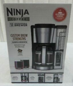 Ninja Coffee 12-Cup Programmable Brewer CE251 W/Gold Tone Permanent Filter