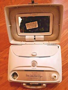 Vintage Petite Salon Hair Dryer By Schick Portable Hair Dryer Manicure. No hood