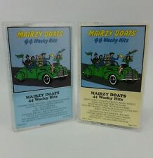 Mairzy Doats 44 Wacky Hits Cassette Tape #1 & #3 Collectible 1989