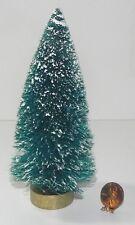 Dollhouse Miniature Christmas Tree Bottlebrush 6 inch Minis 1:12 Scale