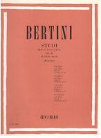 Bertini: 25 Studien Op.29, Für Klavier II Heft (Mugellini) - Erinnerungen
