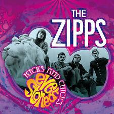 """The zipps: """"kicks and chicks: ever drogado"""" + Unreleased pistas (Digipak CD)"""
