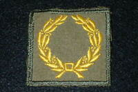 WW2 US Army Meritorious Service Award Patch English Theater Made Variation Rare