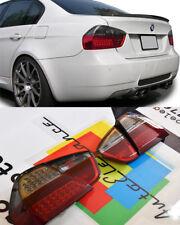 BMW SERIE 3 E90 2005-2008 FARI POSTERIORI LED DESIGN ROSSO FUME' - LOOK M