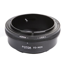 FOTGA Canon FD Lens to Sony E-Mount Adapter For NEX-5C 5N  NEX5  NEX7 NEX-VG10