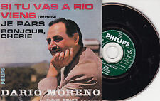 CD CARTONNE CARDSLEEVE DARIO MORENO SI TU VAS A RIO 4T REEDITION EP