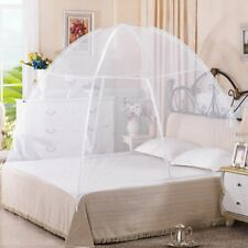 Portable Folding Mosquito Net Fits Most King & Queen Size Beds Easy Fold Carr