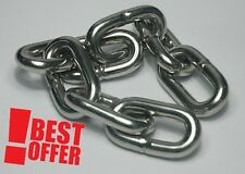 5mm STEEL CHAIN HEAVY DUTY GALVANIZED ALL SIZE BEST PRICE SAILING BOAT ALL SIZE