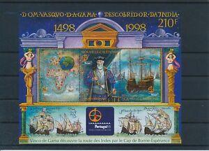 [G26115] New Caledonia 1998 Vasco De Gama good sheet very fine MNH