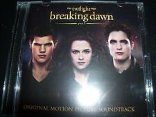 Breaking Dawn The Twilight Saga Part 2 Original Motion Picture Soundtrack CD