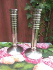 Art Deco Candlesticks/Candelabra Collectable Metalware