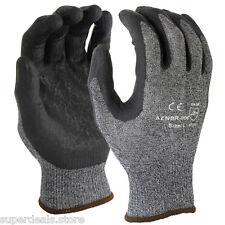 12 Pairs 15 Gauge Premium Nylon Lycra liner Nitrile Palm Coating Glove - X-Large
