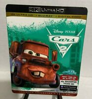 Cars 2 (4K ULTRA HD+BLU-RAY+DIGITAL) Ultimate Collector's Edition, Widescreen.