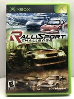 RalliSport Challenge (Microsoft Xbox, 2002) Complete w/ manual - Tested Working