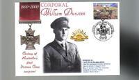AUSTRALIAN ANZAC VICTORIA CROSS 100th ANNIV COV, WILLIAM DUNSTAN