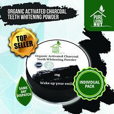 Organic Charcoal Powder: Powerful Stain Remove & Teeth Whitening Pot