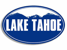 "5"" lake tahoe california bumper car sticker decal usa made"