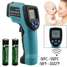 Non-Contact IR Infrared Laser Digital Temperature Thermometer Gun -50℃ ~ 550℃ US