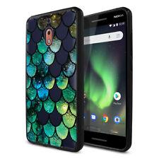 For Nokia 2V / 2.1 5.5 inch Phone Slim Clear Bumper TPU Back Case Cover Skin