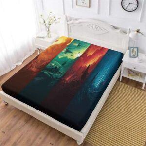Star Wars Deep Pocket Fitted Sheet Set 3PCS Bed Sheet Pillowcases Mattress Cover