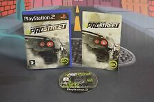 NEED FOR SPEED PROSTREET PAL ESP PLAYSTATION 2 PS2