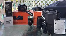 SONY A300 DSLR COMPLETE KIT