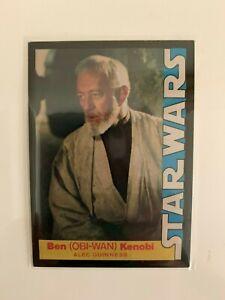 1977 Star Wars Wonder Bread Obi-Wan Kenobi #2 Guinness Trading Card High Grade