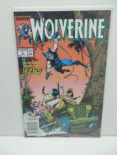 Wolverine Marvel Comic Book 1988 Ongoing Series #5 Vf-Nm Copy Buscema Art