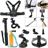 Sports Action Cam Bike Mount Suction Cup Kit for Xiaomi yi 4k plus Sony Gopro7 6