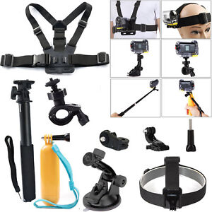 Sports Action Cam Bike Mount Suction Cup Kit for Xiaomi yi 4k plus Sony Gopro7 8