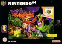 N64 Banjo Kazooie  / Zustand auswählbar